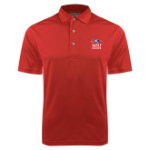 Red Dry Mesh Polo-Informal Logo