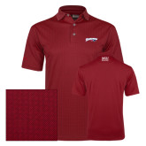 Callaway Red Jacquard Polo-Roadrunners with Head