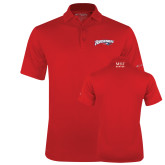 Columbia Red Omni Wick Drive Polo-Roadrunners with Head