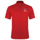 Columbia Red Omni Wick Drive Polo-Informal Logo