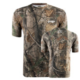 Realtree Camo T Shirt w/Pocket-Roadrunners with Head