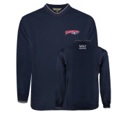 Navy Executive Windshirt-Roadrunners with Head