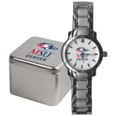 Mens Stainless Steel Fashion Watch-Informal Logo