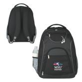 The Ultimate Black Computer Backpack-Informal Logo
