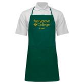 Full Length Dark Green Apron-Alumni