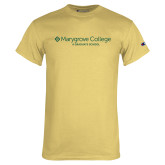 Champion Vegas Gold T Shirt-Graduate School Wordmark