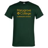 Dark Green T Shirt-Graduate School