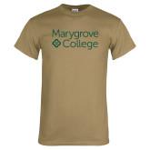Khaki Gold T Shirt-Primary Mark