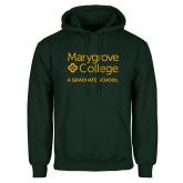Dark Green Fleece Hood-Graduate School