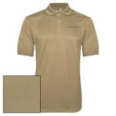 Vegas Gold Dry Mesh Polo-Wordmark