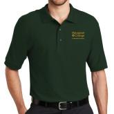 Dark Green Easycare Pique Polo-Graduate School