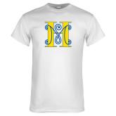 White T Shirt-MHS Logo
