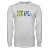 White Long Sleeve T Shirt-MHS Horizontal