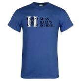Royal T Shirt-MHS Horizontal