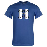 Royal T Shirt-MHS Logo