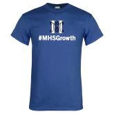 Royal T Shirt-Hashtag MHS Growth