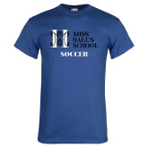 Royal T Shirt-Soccer