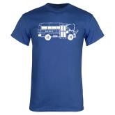 Royal T Shirt-MHS Bus