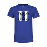 Youth Royal T Shirt-MHS Logo