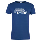 Ladies Royal T Shirt-MHS Bus