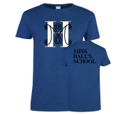 Ladies Royal T Shirt-MHS Logo