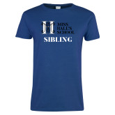 Ladies Royal T Shirt-Sibling