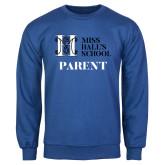 Royal Fleece Crew-Parent