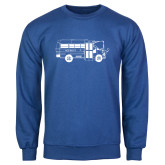 Royal Fleece Crew-MHS Bus