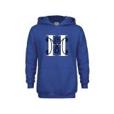 Youth Royal Fleece Hoodie-MHS Logo