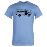 Light Blue T Shirt-MHS Bus