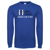 Royal Long Sleeve T Shirt-Cross Country