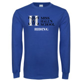 Royal Long Sleeve T Shirt-Riding