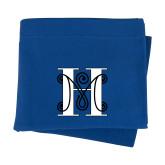 Royal Sweatshirt Blanket-MHS Logo