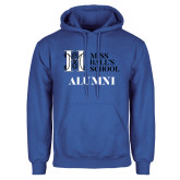 Royal Fleece Hoodie-Alumni