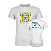 Youth White T Shirt-MHS Logo