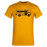 Gold T Shirt-MHS Bus