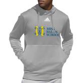 Adidas Grey Team Issue Hoodie-MHS Horizontal