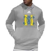 Adidas Grey Team Issue Hoodie-MHS Logo