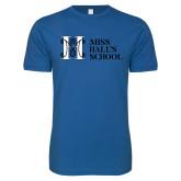 Next Level SoftStyle Royal T Shirt-MHS Horizontal