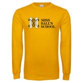 Gold Long Sleeve T Shirt-MHS Horizontal