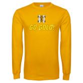 Gold Long Sleeve T Shirt-Go Gold