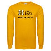 Gold Long Sleeve T Shirt-Grandparent