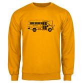 Gold Fleece Crew-MHS Bus