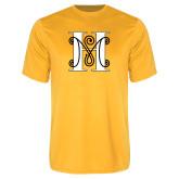 Performance Gold Tee-MHS Logo