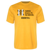 Performance Gold Tee-Riding