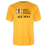 Performance Gold Tee-Alumni