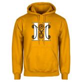 Gold Fleece Hoodie-MHS Logo