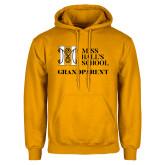 Gold Fleece Hoodie-Grandparent