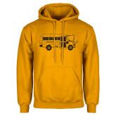 Gold Fleece Hoodie-MHS Bus