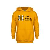 Youth Gold Fleece Hoodie-MHS Horizontal